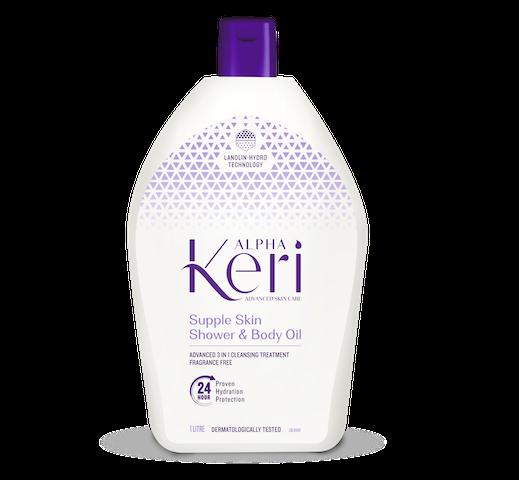 Alpha Keri Supple Skin Shower Bath Oil 1 Litre
